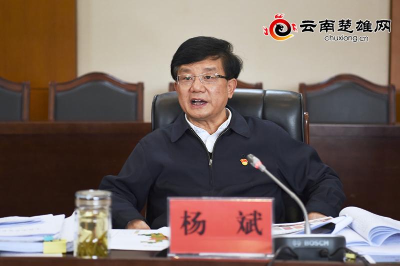 """杨斌:高质量冲刺收官""""十三五""""高质量谋划""""十四五""""和2035年远景目标"""